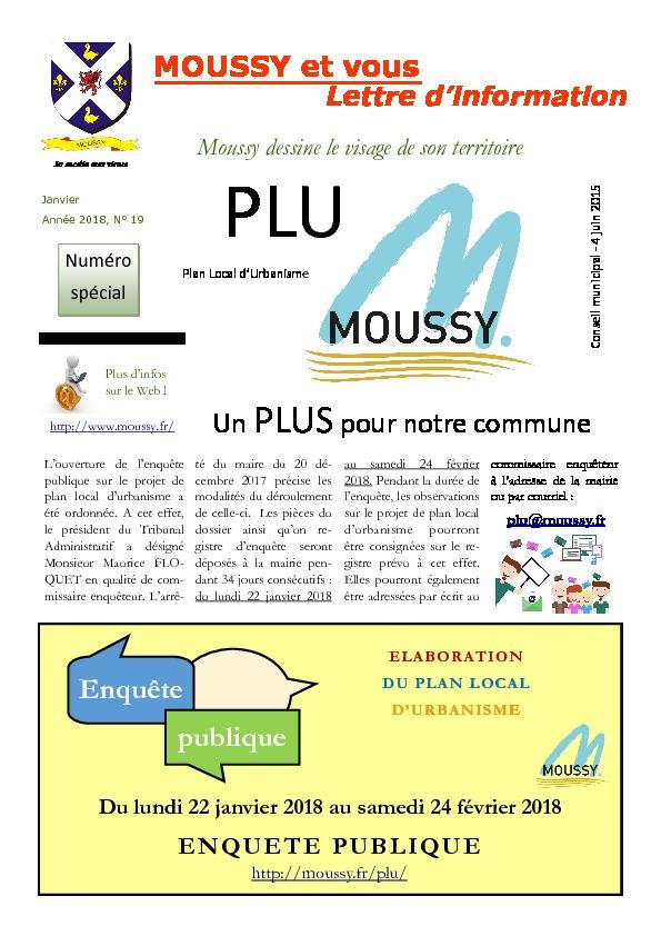 Moussy et Vous – Enquête publique PLU