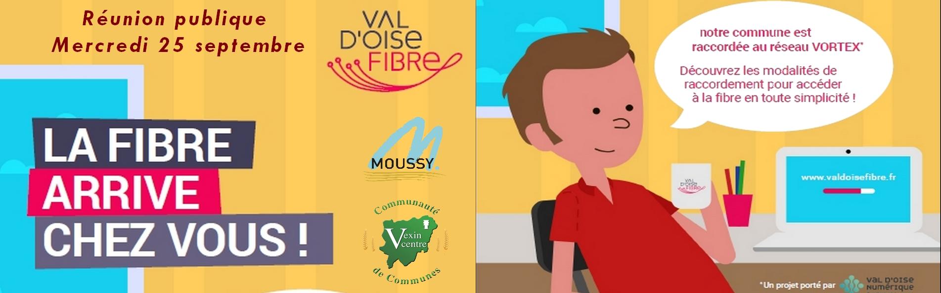 La fibre optique est arrivée à Moussy