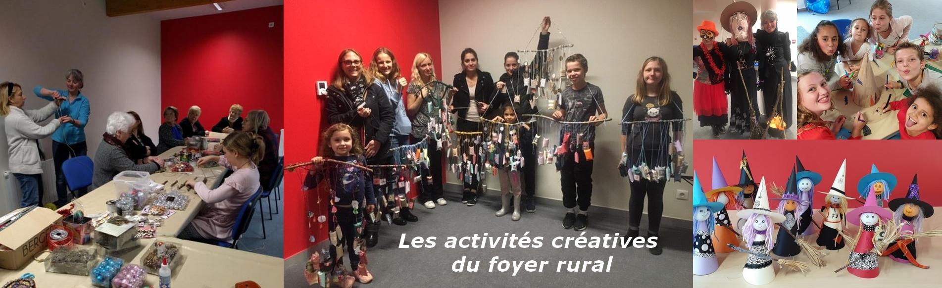 Les activités créatives du foyer rural