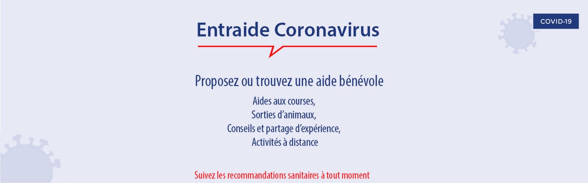 Entraide coronavirus