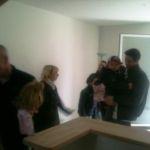 Nouveau logement locatif, inauguration